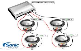svc 4 ohm subwoofer wiring diagram wiring diagram