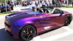 lamborghini purple and black purple lamborghini gallardo changing colors supercar chameleon