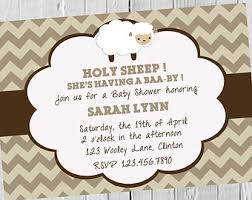 sheep baby shower plain decoration baby shower invitations sumptuous design