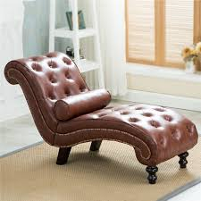 Chair For Bedroom by Leather Sleep Lounge With Pillow For Home Furniture Living Room