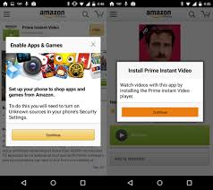 prime instant app for android gigaom makes pull replace its app in the play store