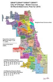 Boystown Chicago Map by The Sixth Ward Maps City Council Black Caucus 50 Wards Proposal
