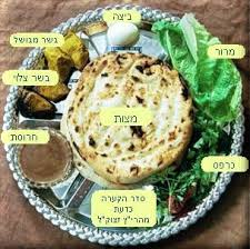 messianic seder plate elements on passover seder and the meal before pesach