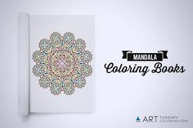 mandala coloring books art therapy coloring