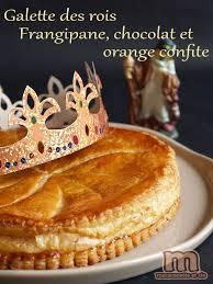 hervé cuisine galette des rois galette des rois frangipane chocolat et oranges confites