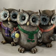 awesome owl garden decor garden decors