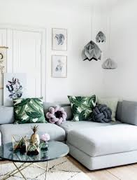 Green And Grey Living Room Décor Ideas DigsDigs - Light colored living rooms