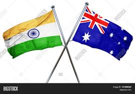 Austrslia Flag India Flag Combined Australian Flag Image U0026 Photo Bigstock