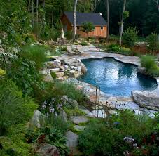 garden backyard with garden landscape and surfside pools also