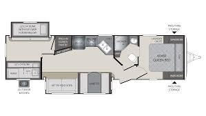 Travel Trailer Floor Plans With Bunk Beds by 2018 Keystone Premier 31bkpr Model