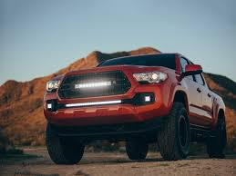 toyota 2016 rigid industries 2016 2017 toyota tacoma grille camburg engineering