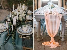 tulle table runner 24 genius ideas for your wedding table runner planners hub