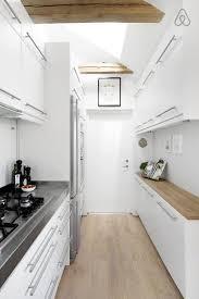 comment am駭ager une cuisine en longueur amnager une cuisine en longueur travaux destiné à cuisine en