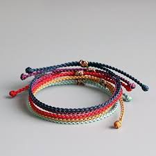 braid rope bracelet images Tale lucky rope bracelet tibetan buddhist hand braided jpg
