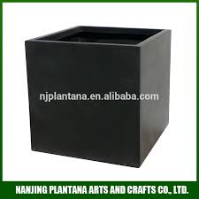light weight flower pot frp square planter expoxy finish various