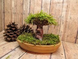 angry tree miniature tree of life raku fired clay