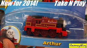 thomas u0026 friends take n play arthur diecast toy train youtube