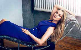 amanda seyfried desktop wallpapers amanda seyfried in a blue dress lying on the chair hd desktop