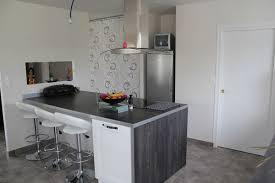 ilot de cuisine avec coin repas awesome ilot central avec coin repas photos amazing house design