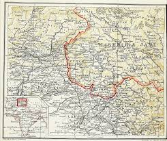 Uri Map Map Of Kashmir And Jamu 1901 Search Kashmir