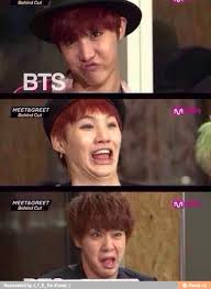 Meme Eww Face - that is literally the worst face i can imagine yoongi ever making
