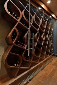 Kitchen Wine Cabinet Best 25 Unique Wine Racks Ideas On Pinterest Wine Cabinets
