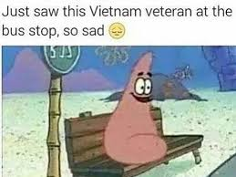 Patrick Star Meme - patrick star the vietnam veteran black twitter know your meme