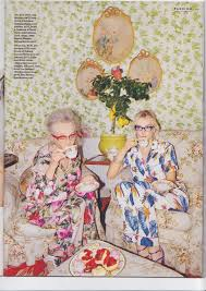 Maximalist Style by Older Models Jan De Villeneuve Older Models Fashion Shoot And
