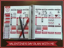 Organize Day Printable Valentine U0027s Day Planner Stickers To Organize Your Week