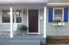 Awnings For Doors At Lowes Awnings And Porch Valances U2013 Home Spun Style