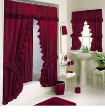 Shower Curtains Sets For Bathrooms by Double Swag Shower Curtain Set Best Shower Curtain Ideas Best
