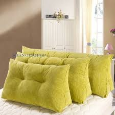 Back Support Cushion For Bed Corduroy Sofa Couch Bed Cushion Pillow Chair Back Support Home