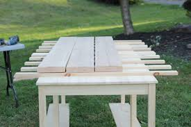 10 ft farmhouse table photos diy farmhouse table knock it off the live well network