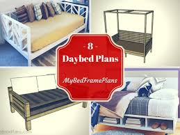 day bed plans 8 free daybed plans free bed frame plans how to build a bed frame