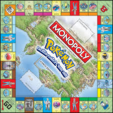 Barnes And Nobles Board Games Monopoly Pokemon Kanto Edition Monopoly Usaopoly