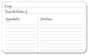 printable recipe cards 4 x 6 free editable recipe cards 4x6 recipe card template free editable