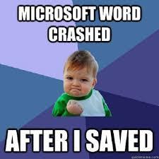 Microsoft Word Meme - our favorite microsoft memes techrepublic