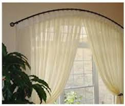 Curtain Rail Curved The 25 Best Curved Curtain Rod Ideas On Pinterest Canopy Tent