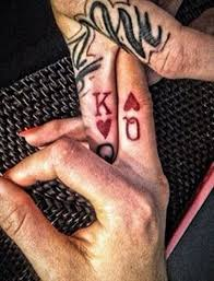 tattoo of queen and king 17 stylish queen finger tattoos