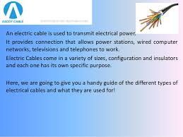 electrical cables everything you need to know