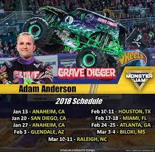 grave digger monster truck schedule 2018 schedule edits drivers facebook