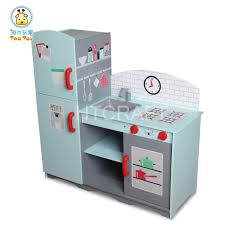 childrens wooden kitchen furniture tk024 children wooden large deluxe kitchen unit microwave stove