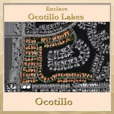 Map Of Chandler Az Enclave At Ocotillo Lakes In Ocotillo In Chandler Arizona