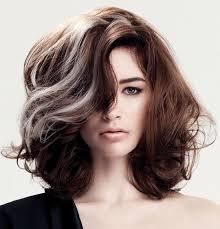 short styles for grey hair streaked this is what my hair will look like if i let the grey continue to