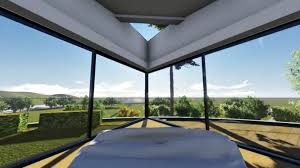 this amazing rotating home lets you change the view with a push of