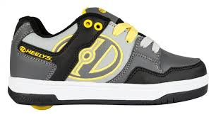 Meme Sneakers - heelys adult 13 heelys flow shoes black grey yellow boys heelys
