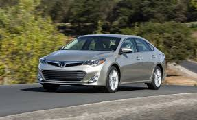 lexus es vs toyota avalon 2013 toyota avalon first drive u2013 review u2013 car and driver