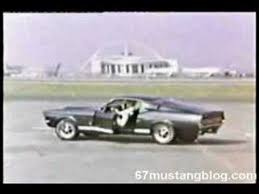 steve mcqueen mustang commercial original 1967 ford mustang shelby tv commercial
