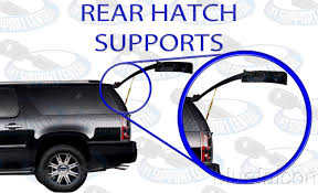 2003 nissan xterra lifted two rear door hatch liftgate lift supports shock strut arm rod for