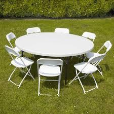 table ronde et chaises table ronde et 10 chaises pliantes mobeventpro